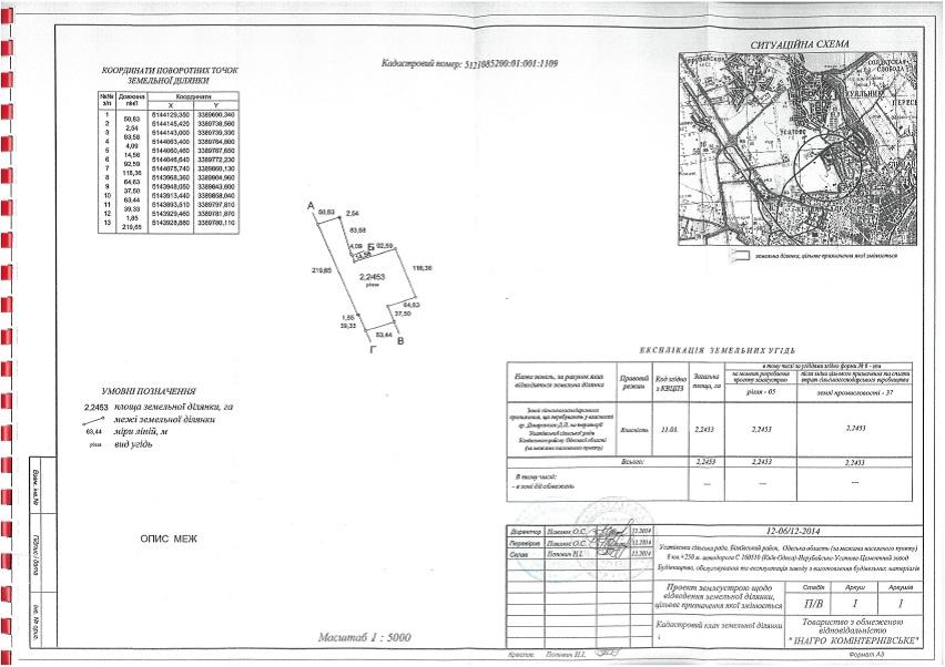 продажа участка номер L-111308 в Усатово, фото номер 5